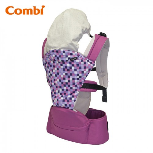 Combi: Foldable Hip Seat 揹帶 / 紫迷彩