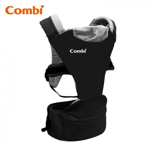 Combi: (揹帶) Foldable Hip Seat Carrier / BK