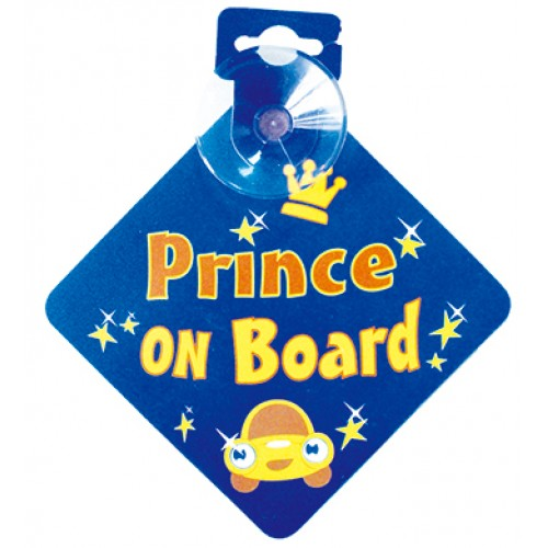 Bebecroc 題示標語Prince On Board