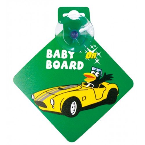 Bebecroc 題示標語Baby On Board